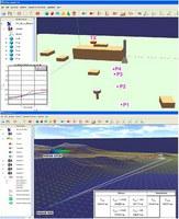 Attraverso il software EMvironment sono state modellate le sorgenti EM e sono state effettuate 40 simulazioni (150 ore di calcolo) per la valutazione dei livelli di campo nel territorio del PISQ. Le simulazioni sono state precedute da una fase di validazione, mediante confronto con i valori di campo elettrico misurati, della procedura e degli algoritmi di calcolo previsionale.
