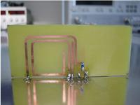 Setup di misura per il prototipo di antenna